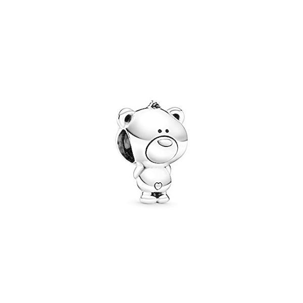 PANDORA Theo Bear 925 Sterling Silver Charm