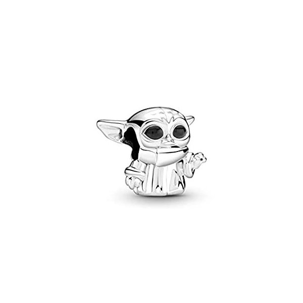 Pandora Baby Yoda Star Wars charm 799253C01 unisex silver