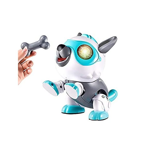 Kearui ロボット 犬 おもちゃ DIY エレクトロニクス ペット 犬