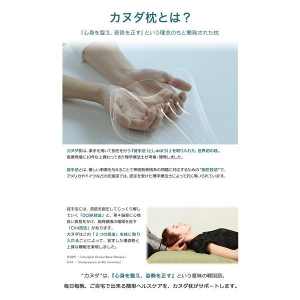 カヌダ ブルーラベル アレグロ枕(まくらのみ) 安眠 枕|kyokusenbi|03