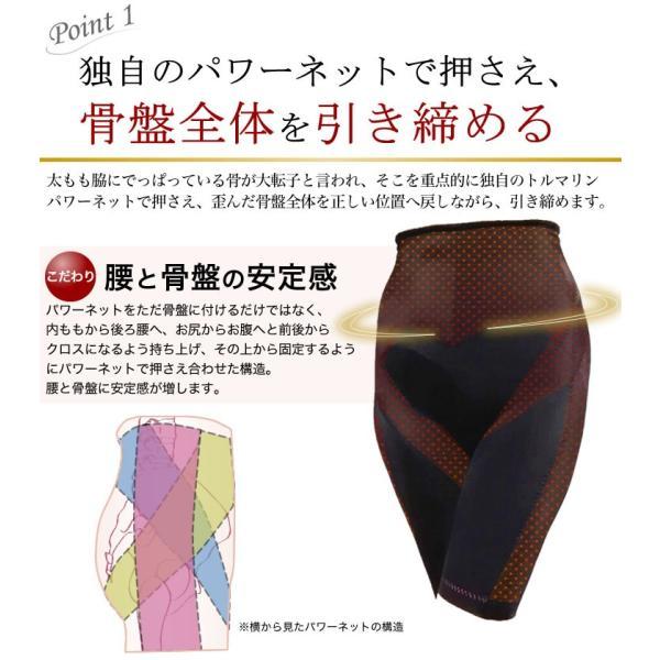 ZEITAKU -トルマリンガードル- 骨盤補整 保温 トルマリン ゲルマニウム 日本製 遠赤放射繊維 高機能補正 補正下着|kyokusenbi|05
