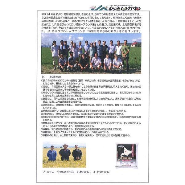 数量限定 地区金賞ゆめぴりか 平成28年度 JAあさひかわ産 玄米 30kg|kyokushoku|06