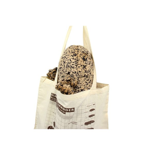 オオサンショウウオぬいぐるみ〈LL〉トートバッグ付き|kyoto-aquarium|07