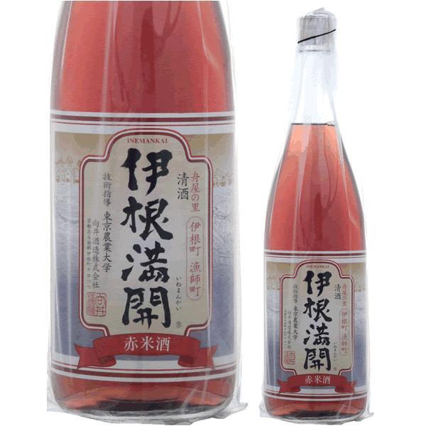ギフト プレゼント 日本酒 京都 向井酒造 伊根満開 古代米 720ml