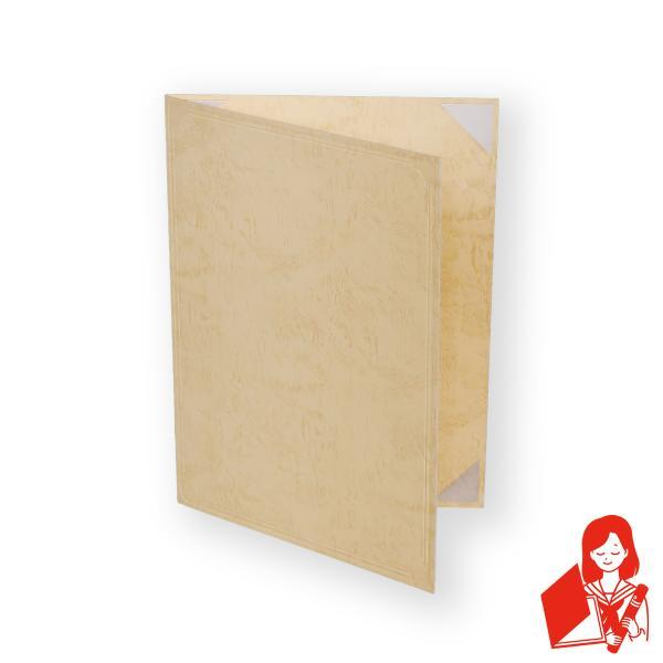 A4用 or B5用 クリーム紙表紙 1枚収納用 証書ファイル 賞状ホルダー ※サイズをご選択下さい