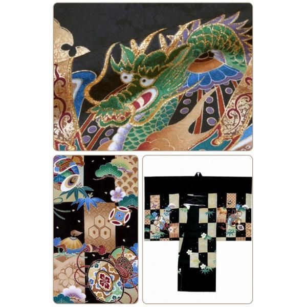 お宮参り 着物 男の子 赤ちゃんのお祝い着 産着 初着 正絹 選べる色柄 IBU02|kyoto-muromachi-st|04