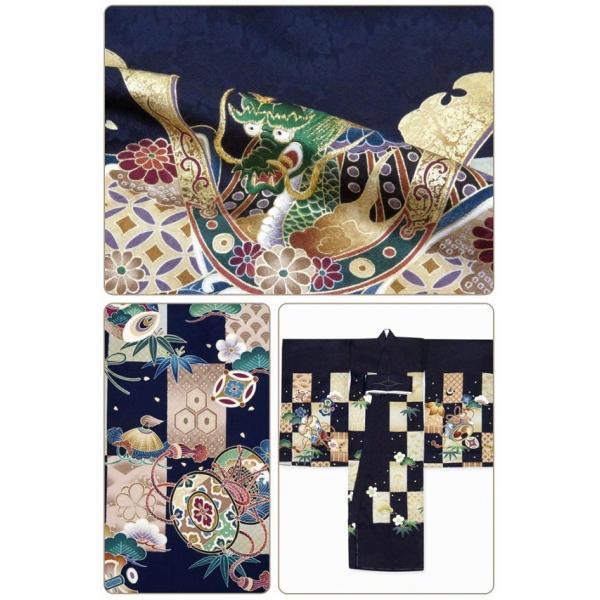 お宮参り 着物 男の子 赤ちゃんのお祝い着 産着 初着 正絹 選べる色柄 IBU02|kyoto-muromachi-st|08