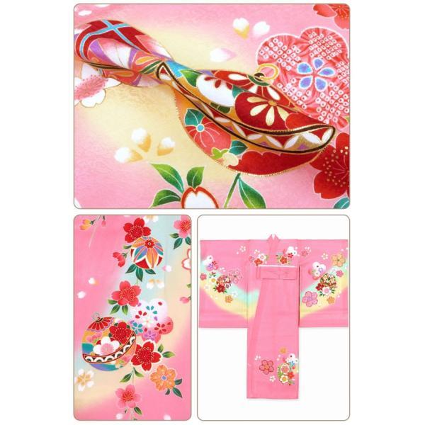 お宮参り 着物 女の子 赤ちゃんのお祝い着 産着 初着 正絹 選べる色柄 IGU02|kyoto-muromachi-st|04