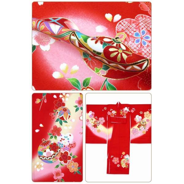 お宮参り 着物 女の子 赤ちゃんのお祝い着 産着 初着 正絹 選べる色柄 IGU02|kyoto-muromachi-st|06
