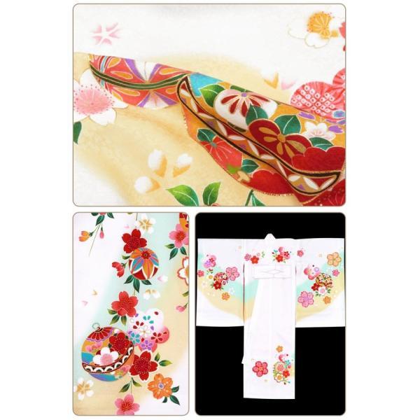 お宮参り 着物 女の子 赤ちゃんのお祝い着 産着 初着 正絹 選べる色柄 IGU02|kyoto-muromachi-st|08