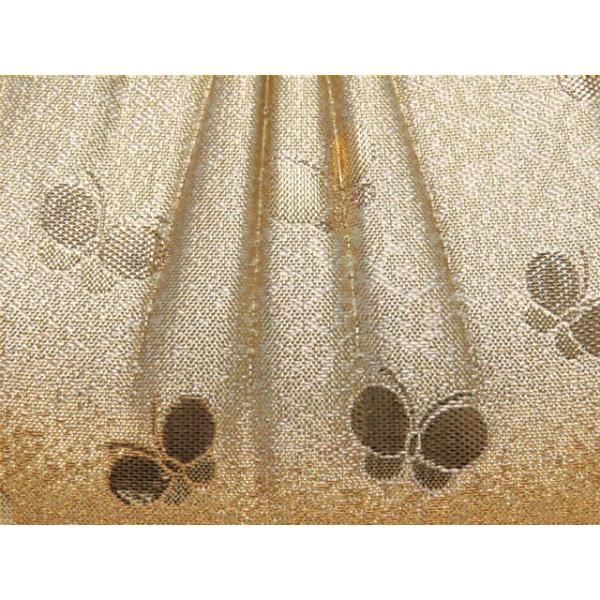 <アウトレット>七五三 バッグ 子供 金襴生地のバッグ 合繊「金色系、蝶」IKB589|kyoto-muromachi-st|03