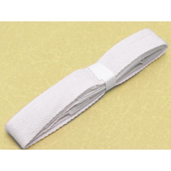 三重紐 子供和装小物 子供用の三重紐 帯の変り結びに「白」kiz-3jyu kyoto-muromachi-st 02