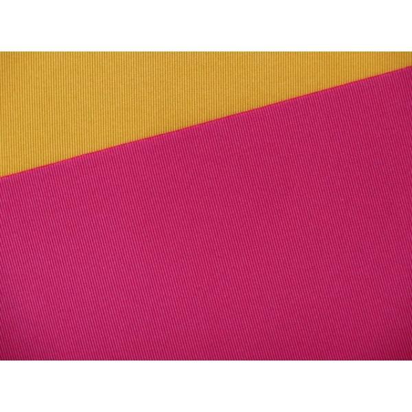浴衣などに 博多織 無地の小袋帯 リバーシブルタイプ「黄&濃いピンク」RMJ505|kyoto-muromachi-st|04