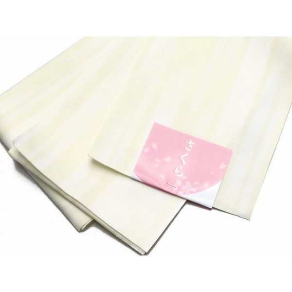 浴衣帯 ゆかた帯 単(ひとえ)の半幅帯 リバーシブル「クリーム系」TGO264|kyoto-muromachi-st|03