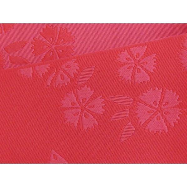 浴衣帯 ゆかた帯 単(ひとえ)の半幅帯 リバーシブル「チェリーレッド、なでしこ」TGO273 kyoto-muromachi-st 04