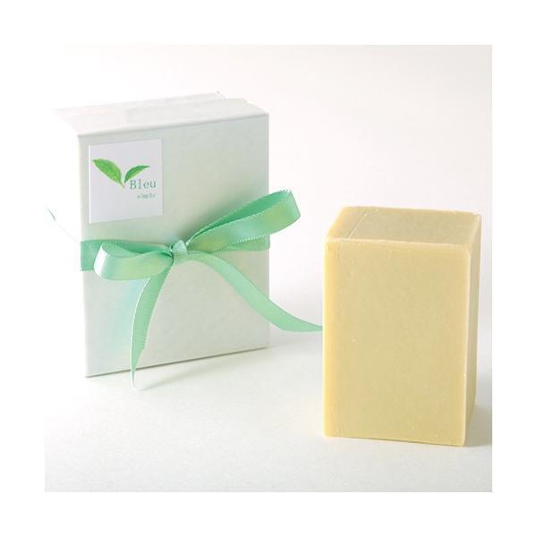 オリーブオイルで作った 洗顔石けん ブルウシンプル 無香料 50g |kyoto-savonya|05