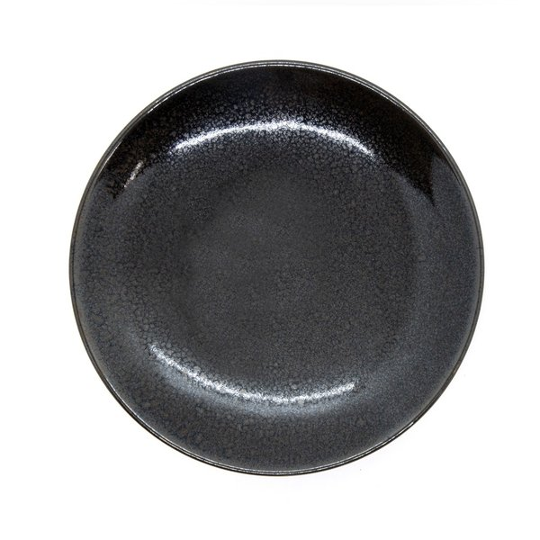 陶器 皿 おしゃれ うどん 清水焼 京焼 黒|kyotomarche