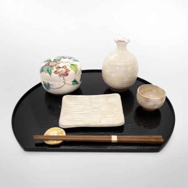 清水焼 京焼 薬味入れ かわいい 花 花柄 丸蓋物 鉄線蓋物 陶器 手作り|kyotomarche|02