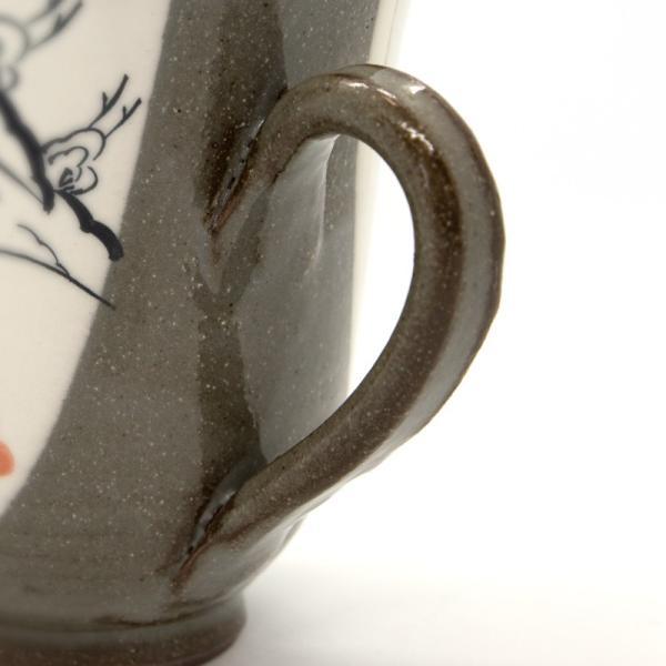 清水焼 京焼 マグカップ 和風 祝儀 おしゃれ 花 千年マグカップ|kyotomarche|02