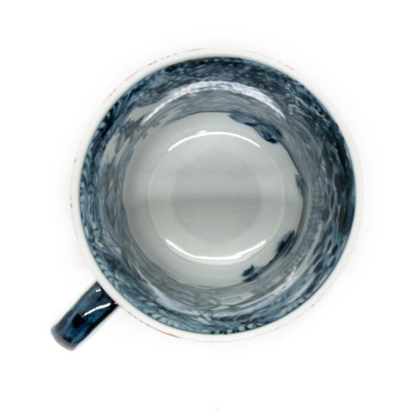 六斎窯 雷文 マグカップ おしゃれ 器 和食器 陶器 手作り 清水焼 kyotomarche 06