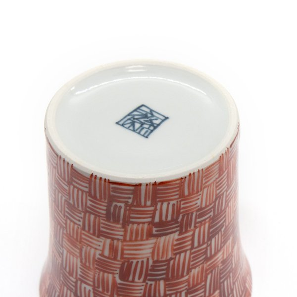 六斎窯 雷文 マグカップ おしゃれ 器 和食器 陶器 手作り 清水焼 kyotomarche 05