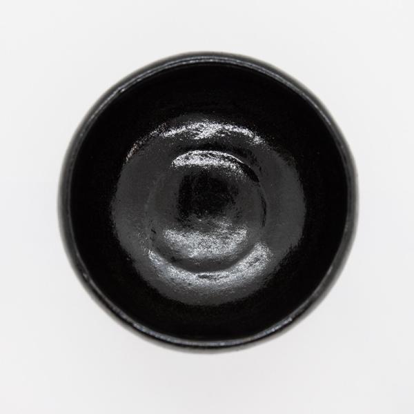 お中元 楽焼窯元 三代松楽 清水焼 茶碗 抹茶碗 茶道 茶の湯 黒楽 陶器 器 京焼|kyotomarche|05
