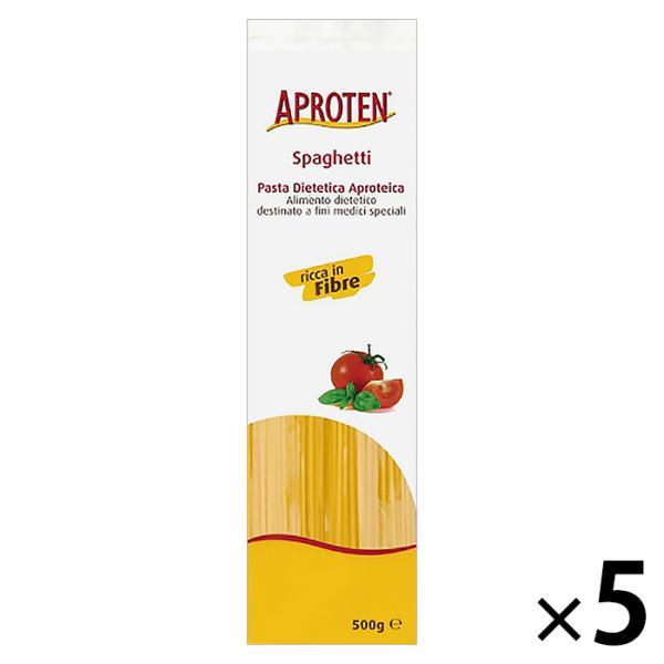 低たんぱく麺 腎臓病食 アプロテン スパゲッティタイプ 5袋 低タンパク麺 減塩