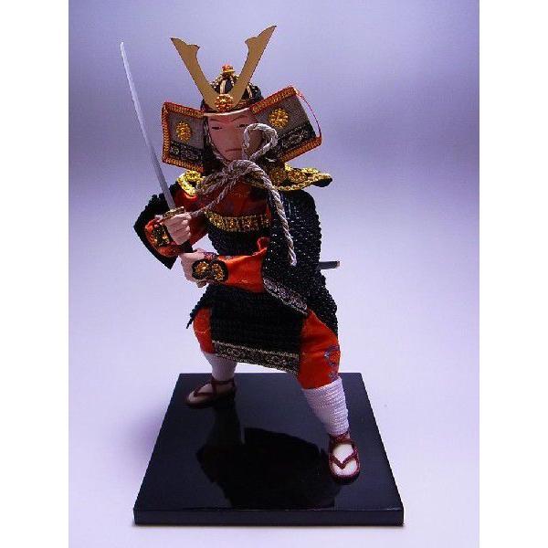 【日本のお土産】◆日本人形【源義経】