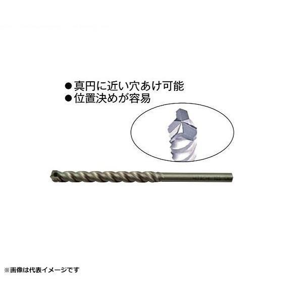 HiKOKI 振動ドリル用 デルタゴンビット ストレートシャンク 錐径8.5×有効長75mm 0032-2400