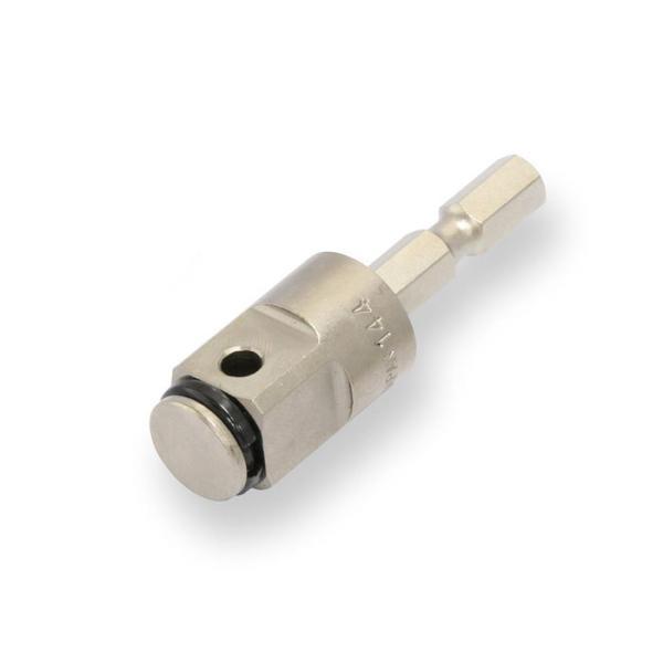 TONE(トネ) 電動ドリル用インパクトソケットアダプター 2BAN-16 ビット二面幅6.35mm/差込角12.7mm
