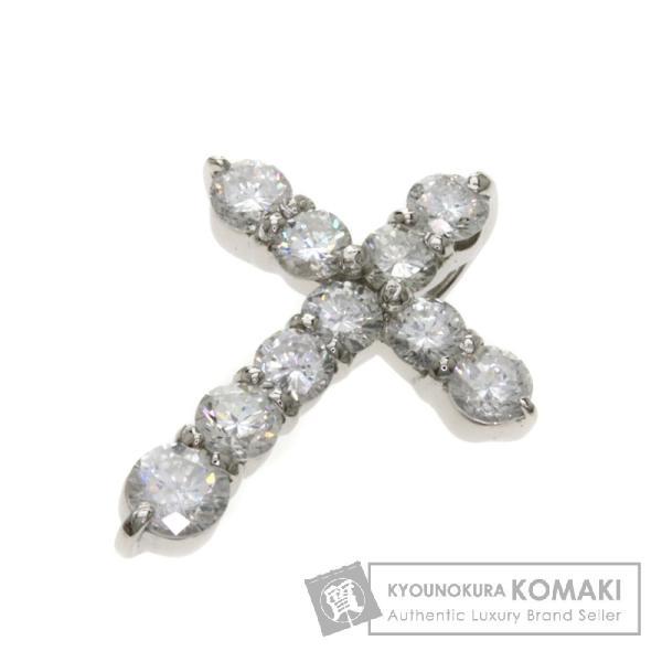 ダイヤモンド クロス ペンダントトップ プラチナPT900  中古 SELECT JEWELRY セレクトジュエリー