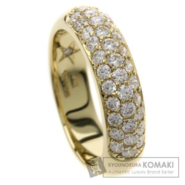 ダイヤモンド VANADIS リング・指輪 K18YG  中古 SELECT JEWELRY セレクトジュエリー