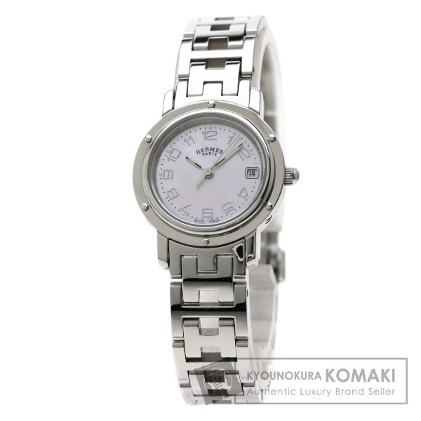 newest 22865 180ac HERMES 腕時計 エルメス CL4.210 エルメス レディース ...