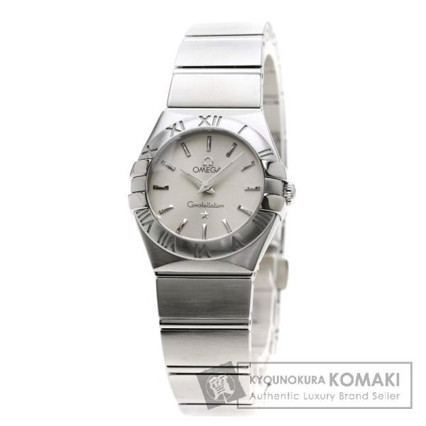 OMEGA オメガ 123.10.24.60.02.001 コンステレーション ブラッシュ 腕時計 ステンレススチール/SS レディース  中古