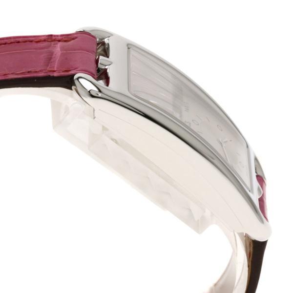 エルメス CC3-510 ケープコット ドゥゾーン 腕時計 ステンレススチール アリゲーター レディース  中古