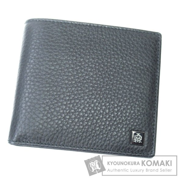 a8c6189ac7b0 Dunhill ダンヒル ロゴマーク 二つ折り財布(小銭入れなし) カーフ メンズ 中古| ...