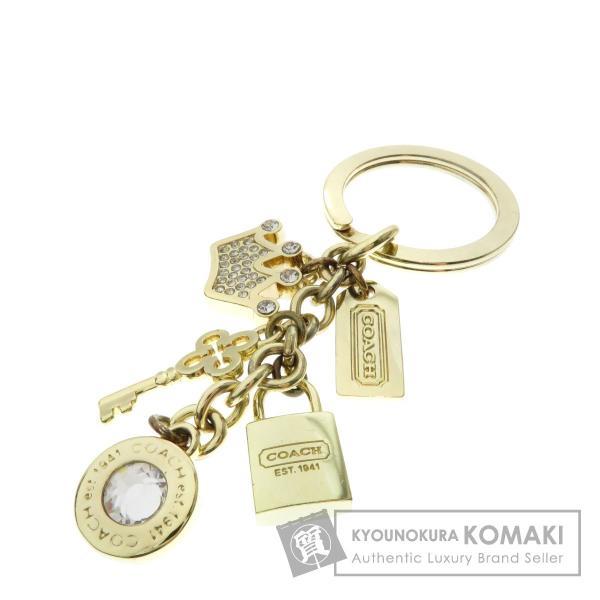 63242034a0da コーチ COACH チャーム キーホルダー金属製 レディース 中古 kyounokura ...