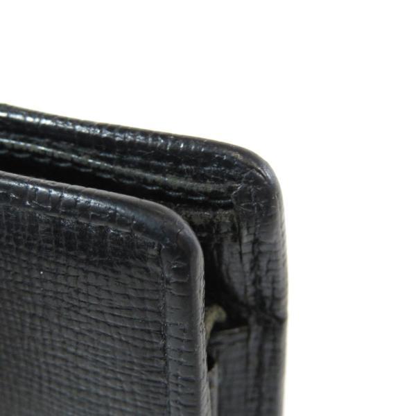 d4ddeaaf618c ... GUCCI グッチ ロゴモチーフ 二つ折り財布(小銭入れあり)レザー メンズ 中古|