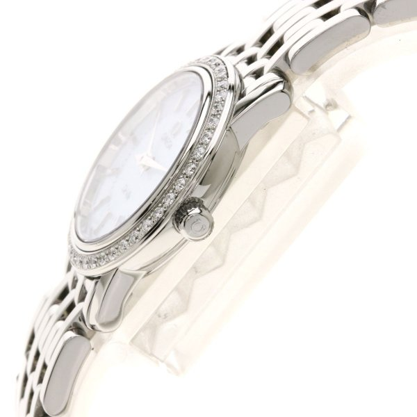 OMEGA オメガ 4575.74 デビル プレステージ 腕時計  ステンレススチール/SS/ダイヤモンド レディース  中古