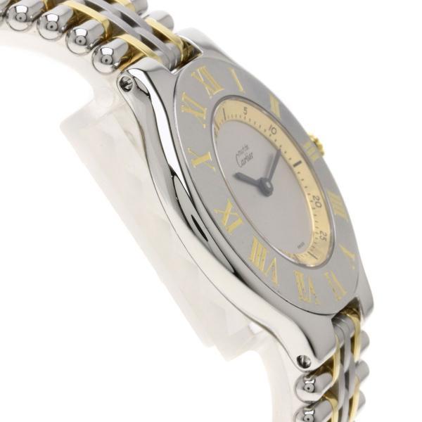 CARTIER カルティエ 1330 マスト21 腕時計  ステンレススチール/コンビ ボーイズ  中古