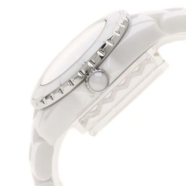 CHANEL シャネル H3826 J12 33 ブルーライト 2000本限定 腕時計  セラミック/セラミックxSS レディース  中古