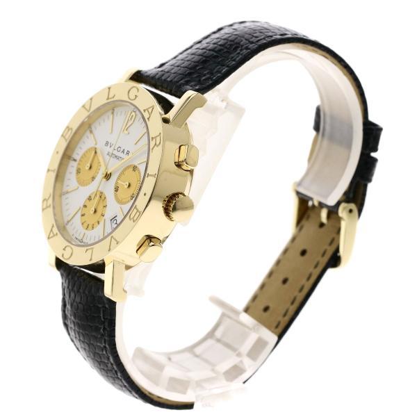 BVLGARI ブルガリ BB38GLDCH ブルガリブルガリ 腕時計  K18イエローゴールド/ワニ革 メンズ  中古 kyounokura 02