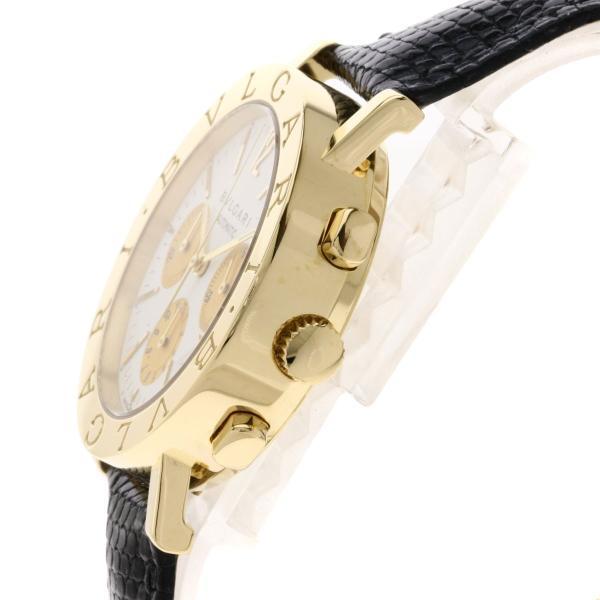 BVLGARI ブルガリ BB38GLDCH ブルガリブルガリ 腕時計  K18イエローゴールド/ワニ革 メンズ  中古 kyounokura 05