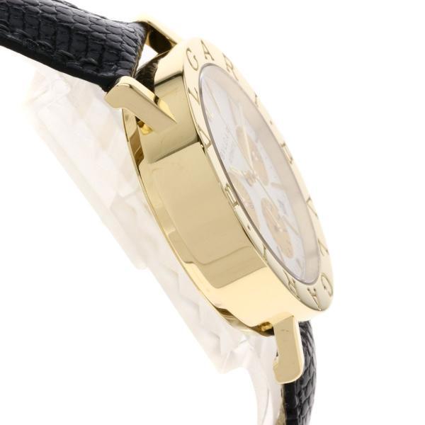 BVLGARI ブルガリ BB38GLDCH ブルガリブルガリ 腕時計  K18イエローゴールド/ワニ革 メンズ  中古 kyounokura 06