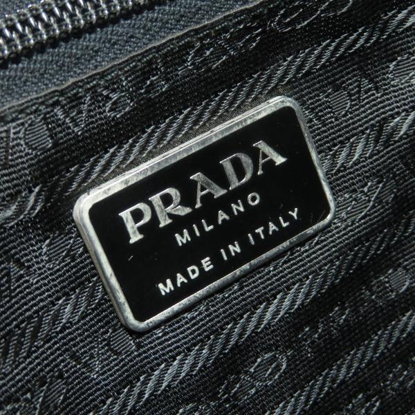 PRADA プラダ ロゴプレート リュック・デイパックナイロン素材 レディース 中古