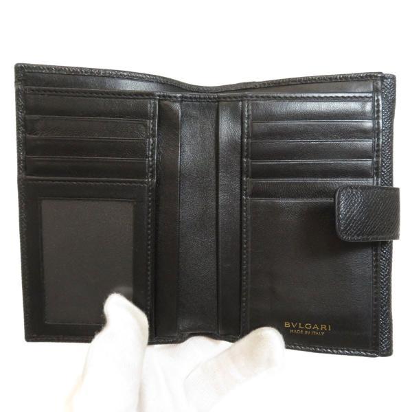 BVLGARI ブルガリ B-zero1 二つ折り財布(小銭入れあり)レザー レディース 中古|kyounokura|04