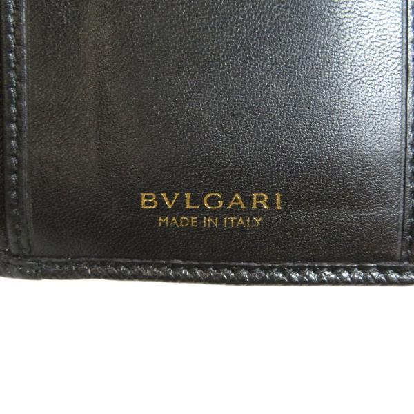 BVLGARI ブルガリ B-zero1 二つ折り財布(小銭入れあり)レザー レディース 中古|kyounokura|07