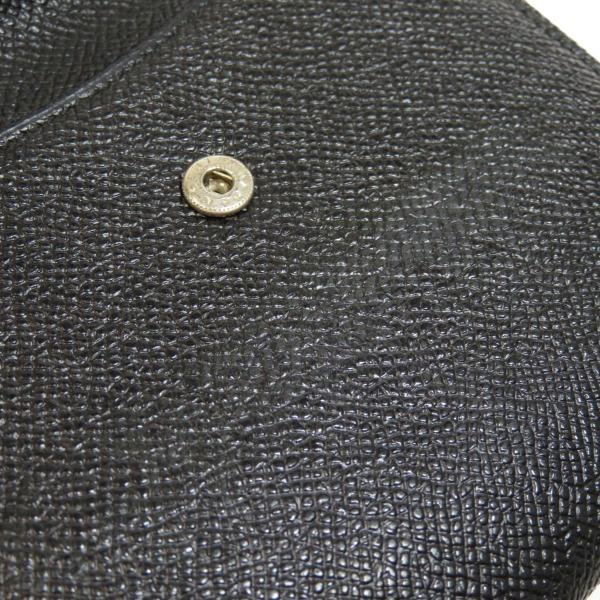 BVLGARI ブルガリ B-zero1 二つ折り財布(小銭入れあり)レザー メンズ 中古|kyounokura|11