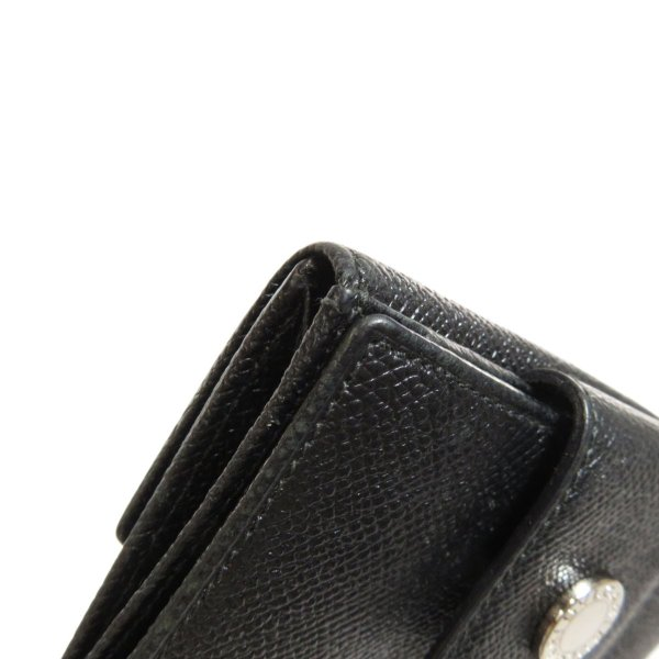 BVLGARI ブルガリ B-zero1 二つ折り財布(小銭入れあり)レザー メンズ 中古|kyounokura|12
