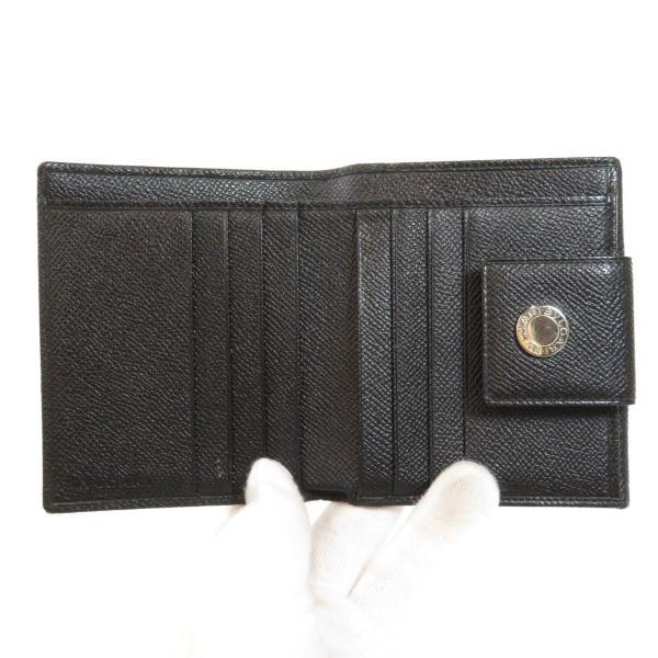 BVLGARI ブルガリ B-zero1 二つ折り財布(小銭入れあり)レザー メンズ 中古|kyounokura|04